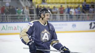 Казахстанский хоккеист с опытом игры в НХЛ остался без команды