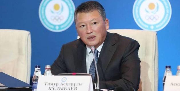 Кулибаев переизбран на пост президента Национального олимпийского комитета Казахстана