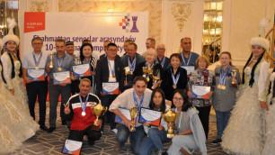 Казахстанские шахматисты завоевали медали на чемпионате Азии среди сеньоров