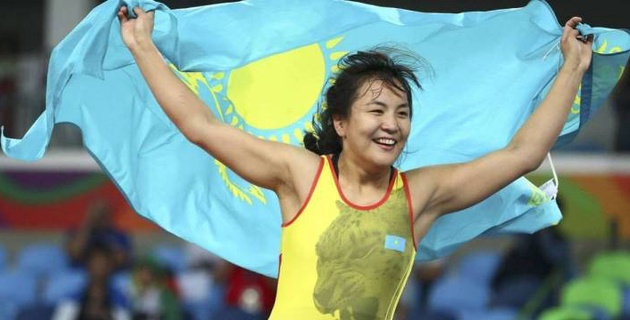 Казахстан завоевал вторую лицензию на Олимпиаду-2020 в женской борьбе