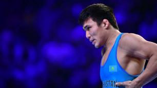 20-летний казахстанец вышел в финал ЧМ-2019 по борьбе в Нур-Султане