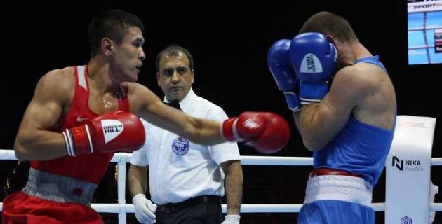 Видео боя, или как казахстанец побывал в нокдауне и остался без финала ЧМ-2019 по боксу