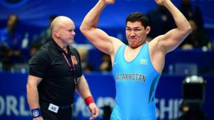 Тяжеловес вышел в полуфинал ЧМ-2019 по борьбе и принес Казахстану 20-ю лицензию на Олимпиаду-2020