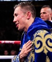 Сборная Казахстана по боксу поддержала Головкина перед боем за два титула чемпиона мира