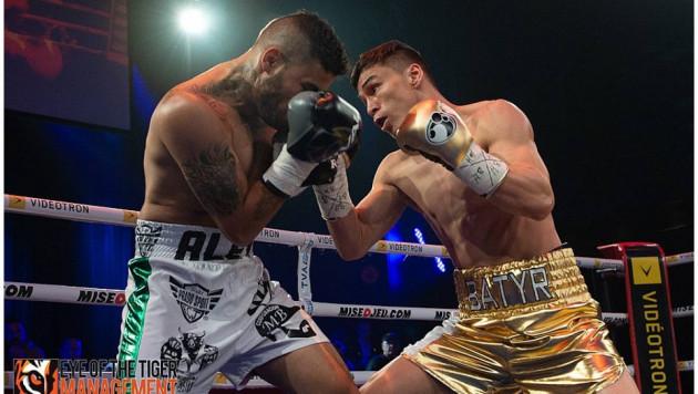 Батыр Джукембаев получил главный бой вечера и шанс завоевать два титула