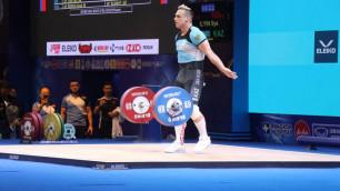 Илья Ильин не смог войти в ТОП-10 на чемпионате мира по тяжелой атлетике