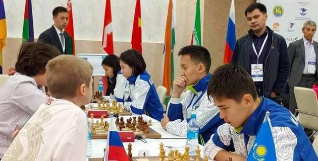 Сборная Казахстана по шахматам оказалась в четверке лучших юношеских команд мира