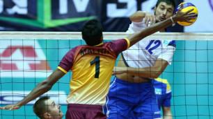 Мужская сборная Казахстана по волейболу примет участие в квалификации на Олимпиаду-2020