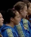 """Казахстанские ватерполистки исполнили прерванный гимн Казахстана """"а капелла"""""""