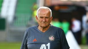 Экс-рулевой казахстанских клубов стал вторым среди самых возрастных действующих тренеров в Европе