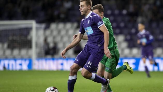 Футболист сборной Казахстана сыграл 120 минут в матче с самым титулованным клубом Бельгии