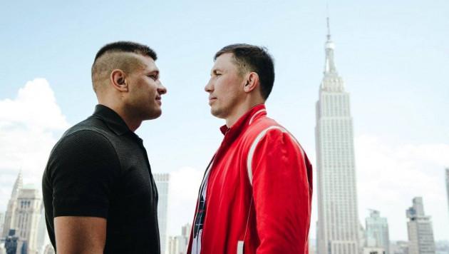 Во сколько по казахстанскому времени начнется бой Головкин - Деревянченко за два титула чемпиона мира
