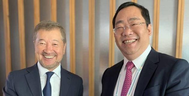 Федерация тенниса Казахстана подписала меморандум о сотрудничестве с китайской ассоциацией