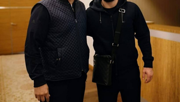 Хабиб Нурмагомедов прибыл на турнир в Атырау