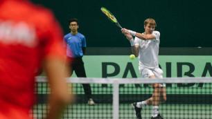 Бублик обыграл экс-третью ракетку мира и вышел в полуфинал турнира в Китае