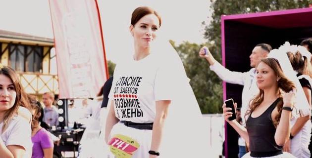 450 девушек преодолели семь километров на Женском забеге в Алматы