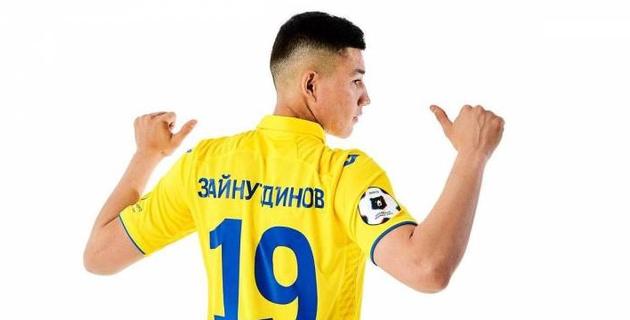 Видео первого гола казахстанца Бахтиера Зайнутдинова в российской премьер-лиге