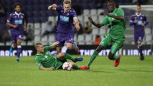 Защитник сборной Казахстана сыграл за бельгийский клуб в матче против лидера чемпионата
