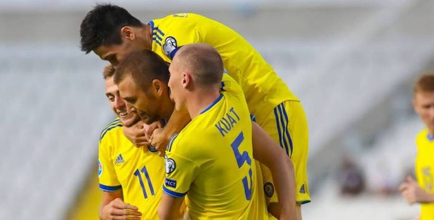 Зайнутдинов, Хижниченко и еще 21 футболист вызваны в сборную Казахстана на матчи с Кипром и Бельгией