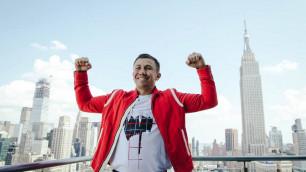 Геннадий Головкин прибыл в Нью-Йорк на бой за два титула чемпиона мира