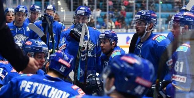 """""""Барыс"""" лишился лидерства в дивизионе и второго места в Восточной конференции КХЛ"""