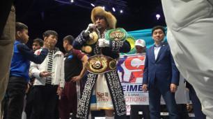 Обладатель трех титулов из Казахстана вошел в топ-3 рейтинга WBA