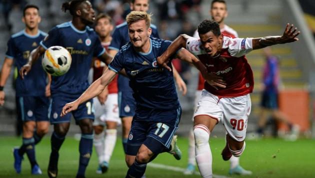 Казахстанский футболист сыграл против португальского клуба в матче Лиги Европы