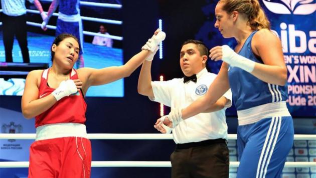 Казахстан одержал первую победу на женском чемпионате мира-2019 по боксу