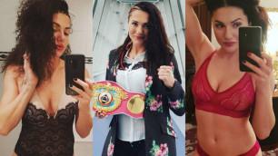 Снимавшаяся для Playboy чемпионка мира по боксу поцеловала соперницу и едва не пожалела