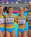 Женская эстафетная команда Казахстана не смогла выйти в финал ЧМ по легкой атлетике