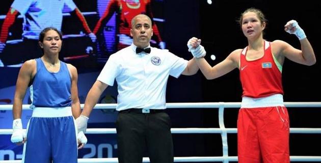Еще две казахстанки стартовали с побед на чемпионате мира-2019 по боксу