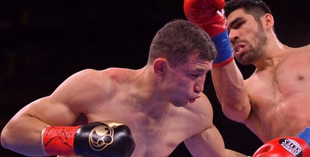 "Видео нокаута, или как ""Монстр"" из Узбекистана победил мексиканца в вечере бокса Головкина"
