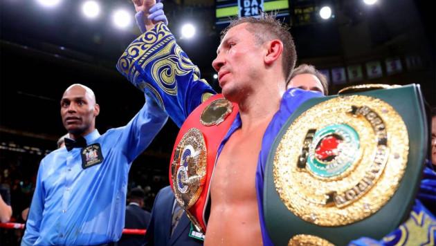 Геннадий Головкин стал двукратным чемпионом мира