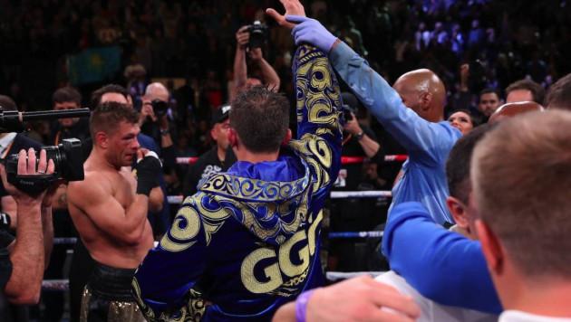 Токаев и Назарбаев поздравили Головкина с победой в бою за два титула чемпиона мира