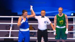 Казахстанка вышла в четвертьфинал чемпионата мира по боксу