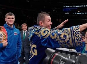 """Когда GGG выходит на ринг, у меня адреналин"". Ахмедов - о победе Головкина, нокауте за 44 секунды и планах на титулы"