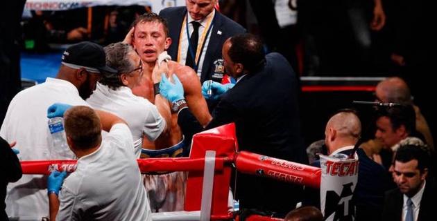 Головкину посоветовали поменять тренера после 12 раундов в бою за два титула