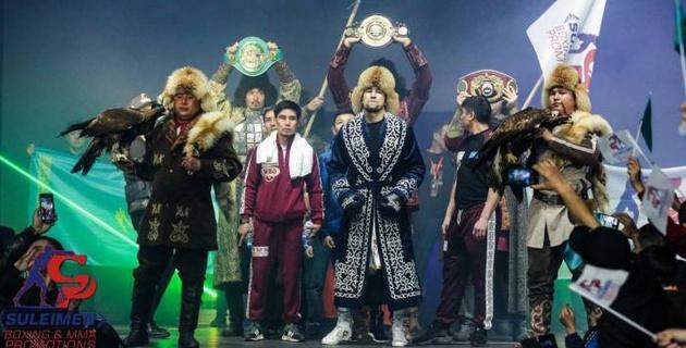 Стали известны сроки проведения следующего боя непобежденного казахстанца с титулами от WBC, WBA и WBO