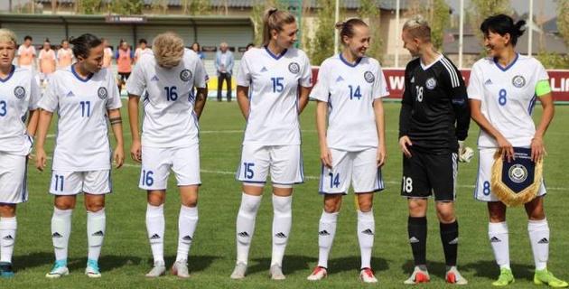 Женская сборная Казахстана по футболу проиграла Франции в матче отбора на Евро-2021
