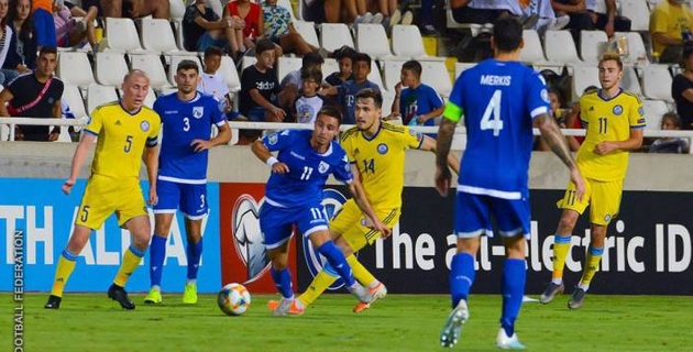 Прямая трансляция матча отбора на Евро-2020 Казахстан - Кипр
