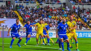 Сборные Казахстана и Кипра назвали стартовые составы на матч отбора на Евро-2020