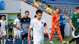 Футболиста сборной Казахстана дисквалифицировали на пять матчей