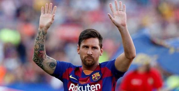 """""""Барселона"""" готова предложить Месси контракт на десять лет"""