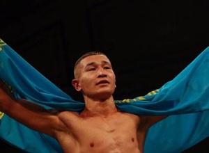 Казахстанец нокаутировал в первом раунде боксера с 13 победами и выиграл седьмой бой в профи