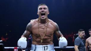 Усик дебютировал в супертяжелом весе с досрочной победы