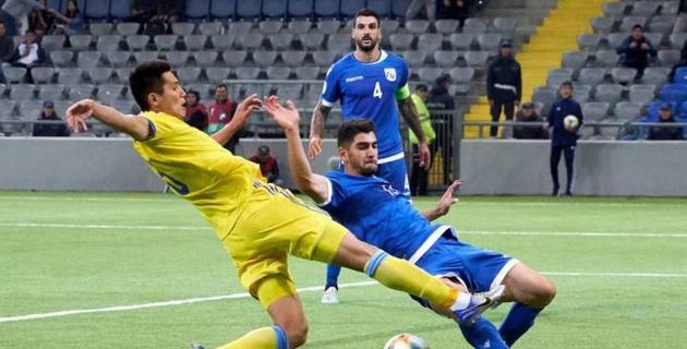 Три футболиста сборной Казахстана не сыграют против Бельгии