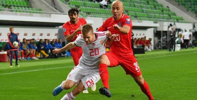 """Сборная игроков """"Астаны"""" и """"Тобола"""" потерпела пятое поражение в отборе на Евро-2020"""