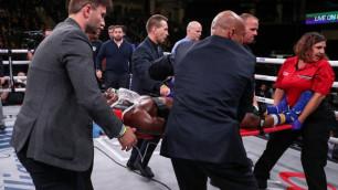 Появилась информация о состоянии впавшего в кому после нокаута американского боксера