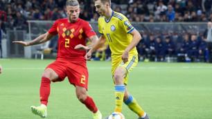 Бельгийский клуб уволил тренера, при котором защитник сборной Казахстана играл в основе
