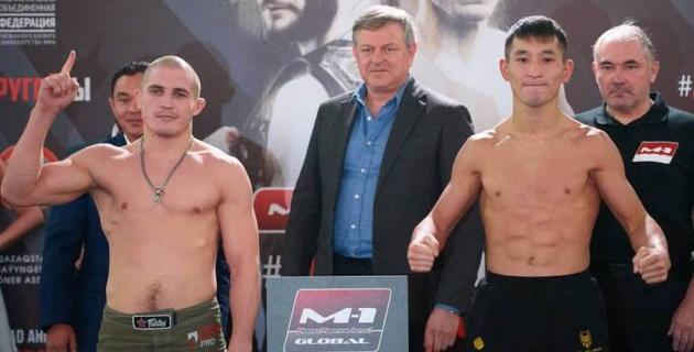 Видео победных боев казахстанцев Жумабекова и Жусупова на M1 Challenge105